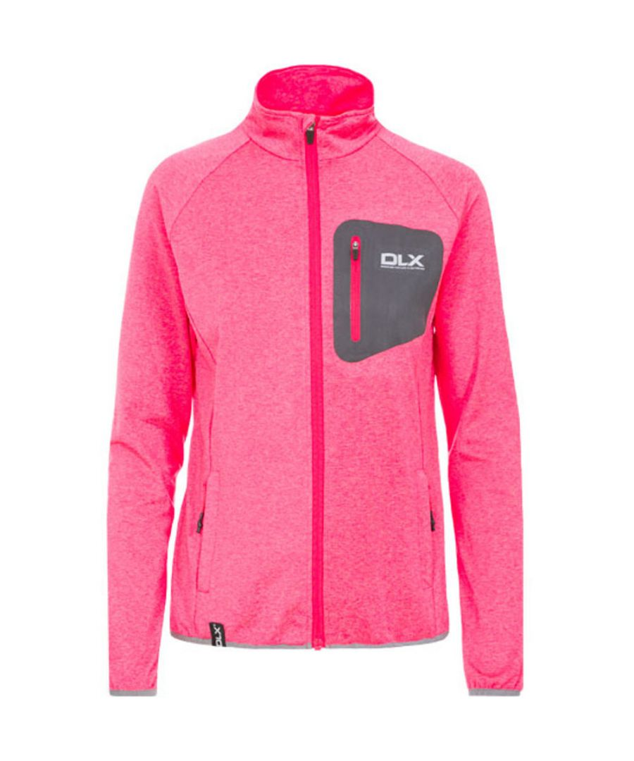 Image for Trespass Womens/Ladies Darby Knitted Quickdry Full Zip DLX Top