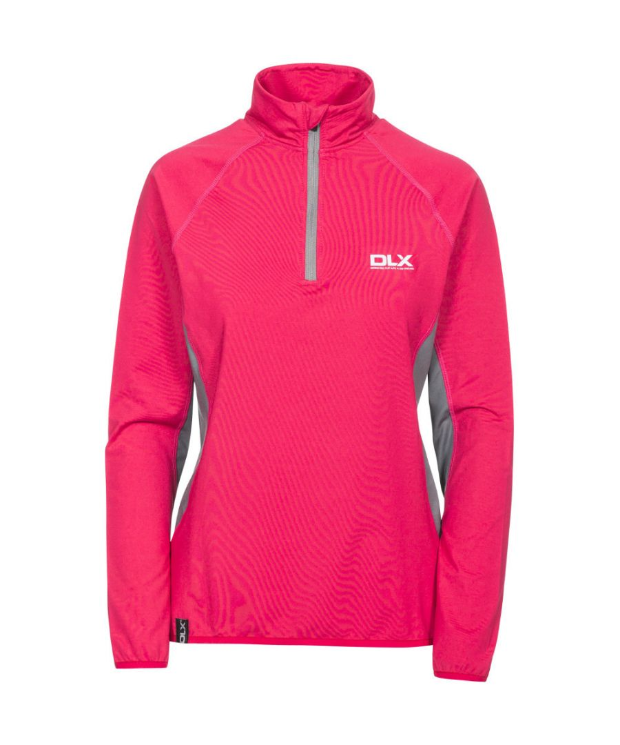 Image for Trespass Womens/Ladies Frey Knitted Half Zip Long Sleeved DLX Top