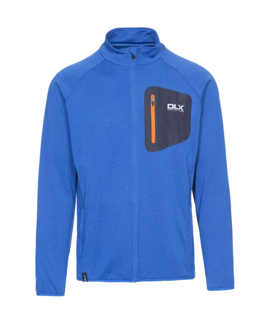 Image for Trespass Mens Colson Polyester Quickdry Antibacterial Full Zip DLX Top