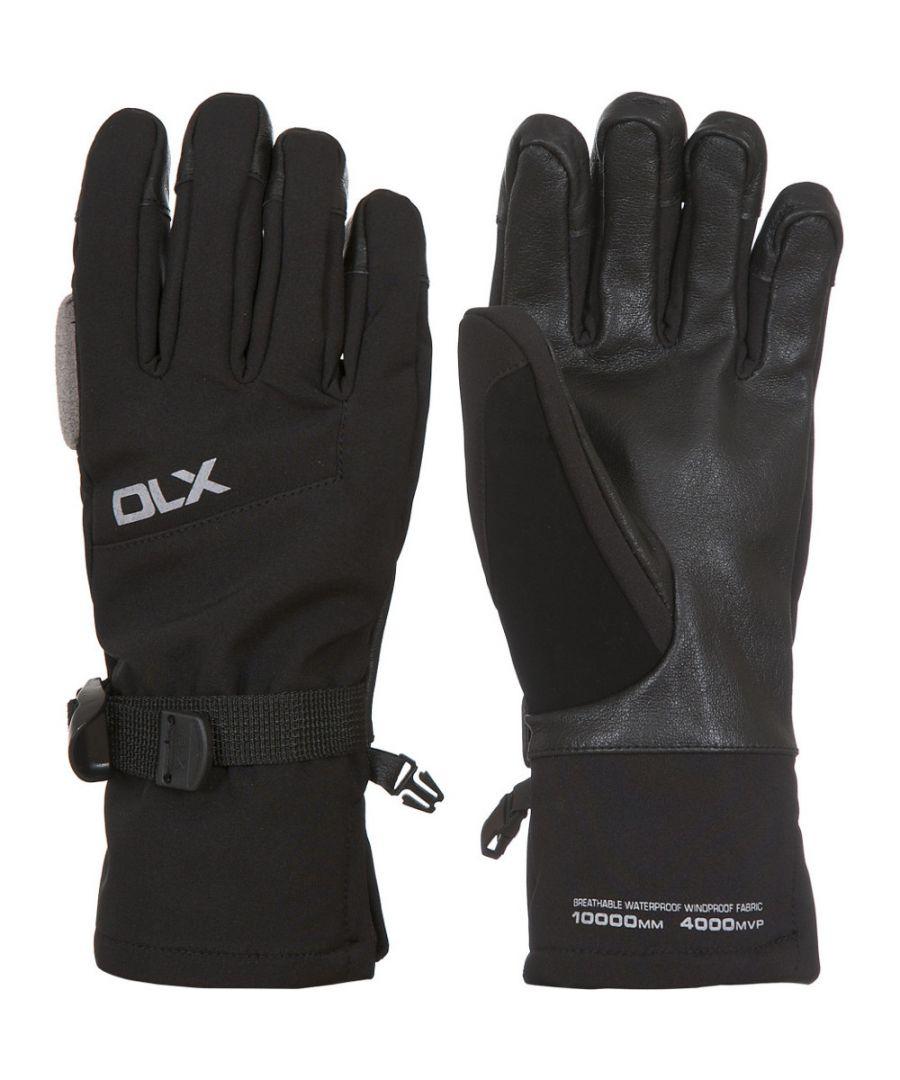 Image for Trespass Womens/Ladies Misaki II Waterproof DLX Softshell Gloves