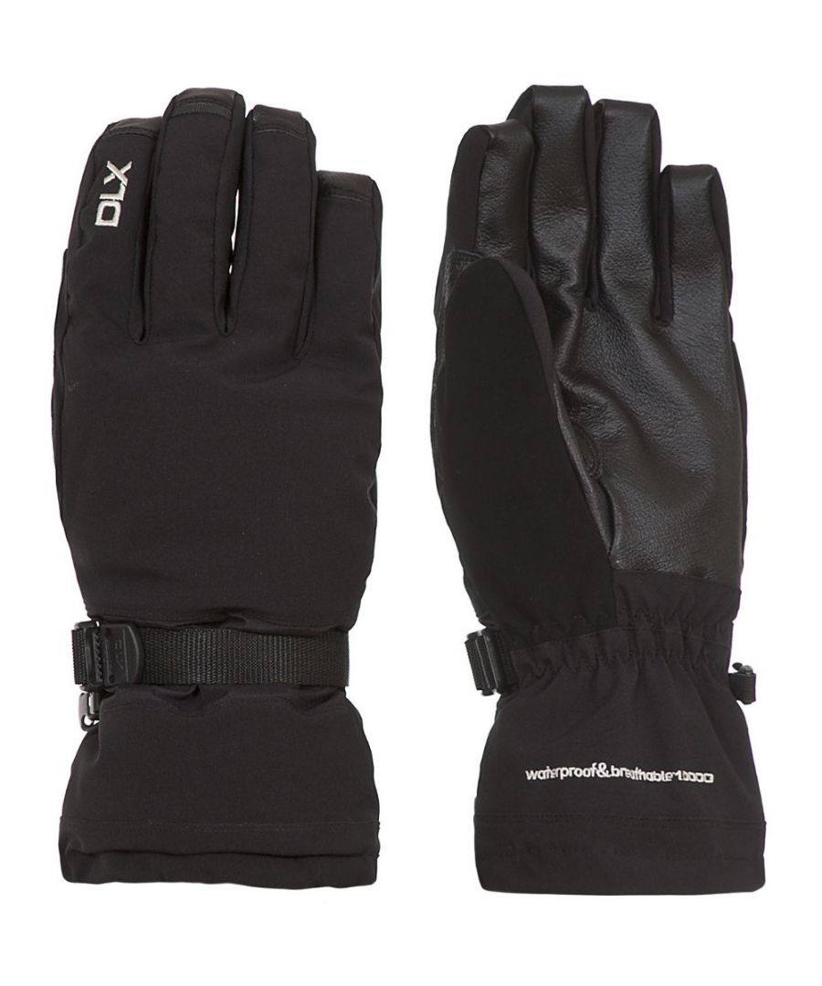 Image for Trespass Mens Spectre Waterproof Breathable Padded DLX Stretch Gloves