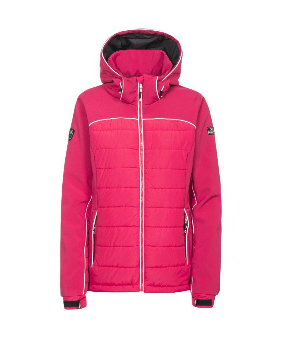 Image for Trespass Womens/Ladies Evvy Padded Windproof Softshell Ski Jacket Coat