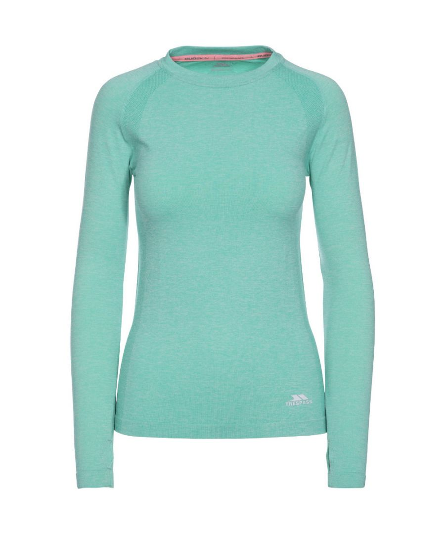 Image for Trespass Womens/Ladies Welina Long Sleeve Quick Dry Wicking Active Top