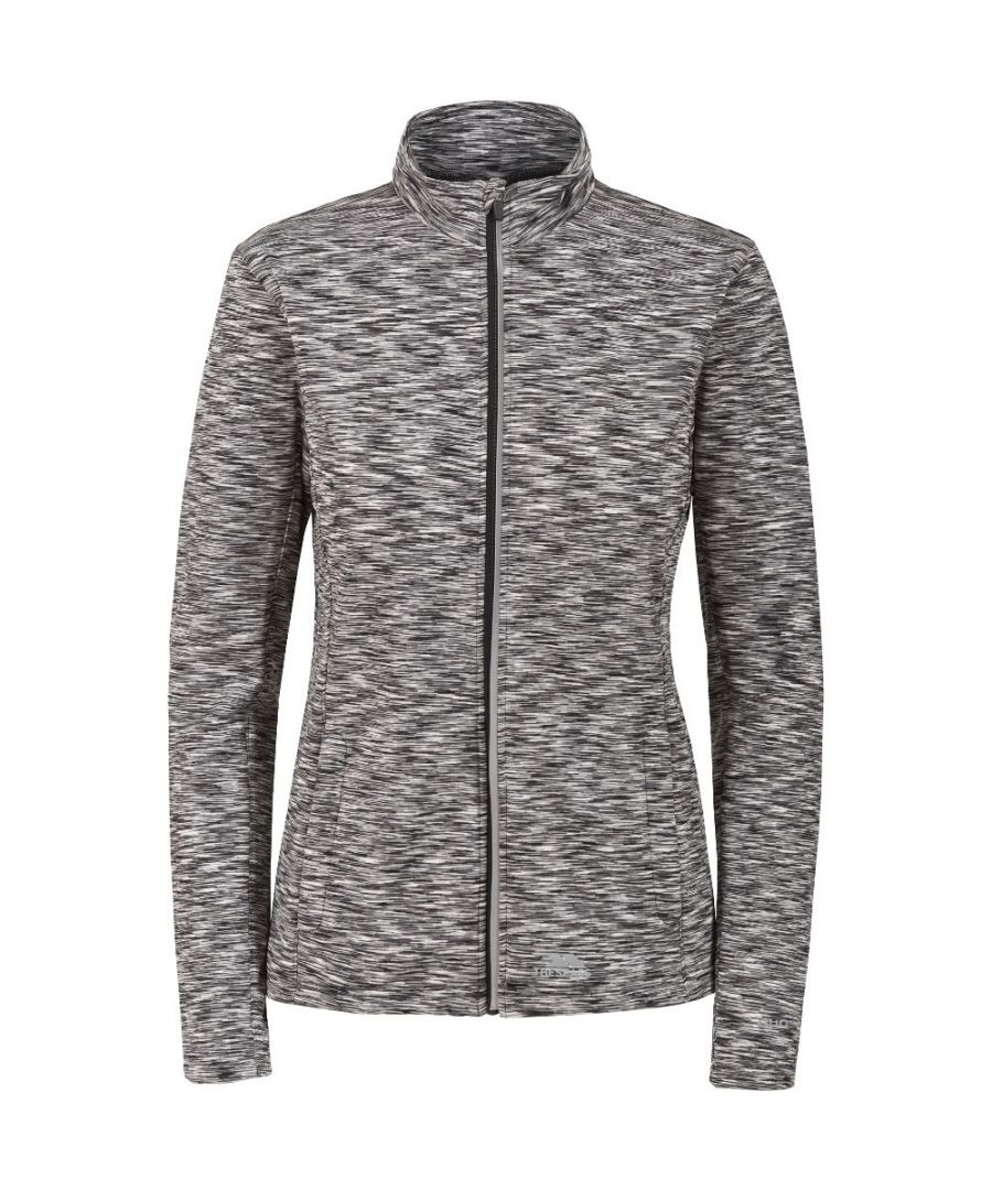 Image for Trespass Womens/Ladies Indira Full Zip Long Sleeved Wicking Active Top