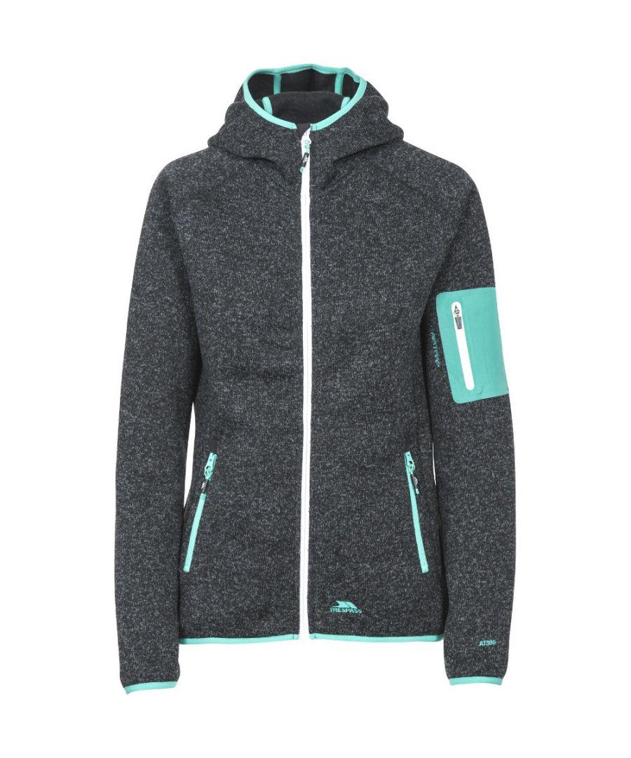 Image for Trespass Womens/Ladies Mona Lisa Polyester Full Zip Fleece Jacket Coat