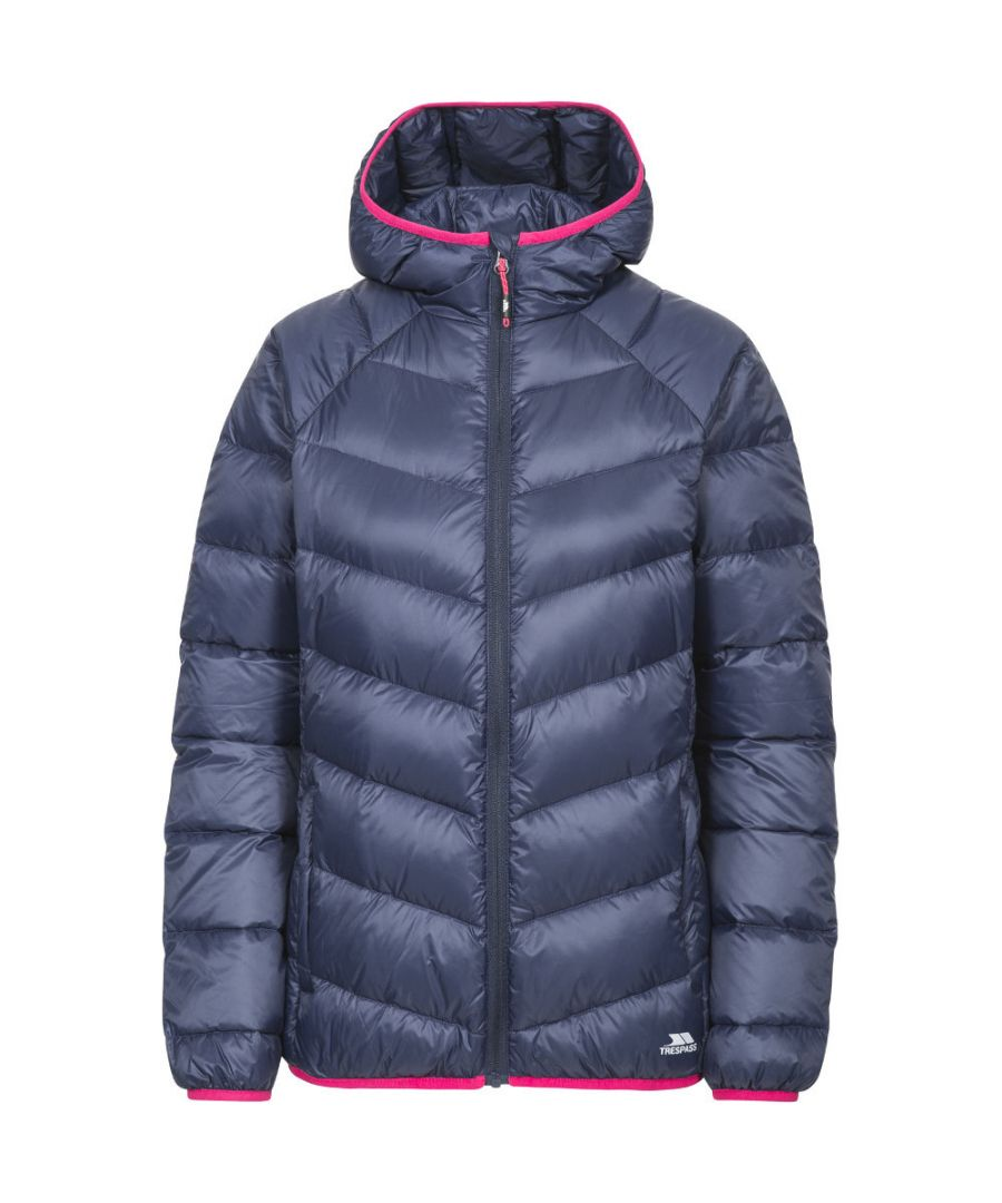 Image for Trespass Womens/Ladies Kirstin Polyamide Hooded Shell Padded Jacket Coat