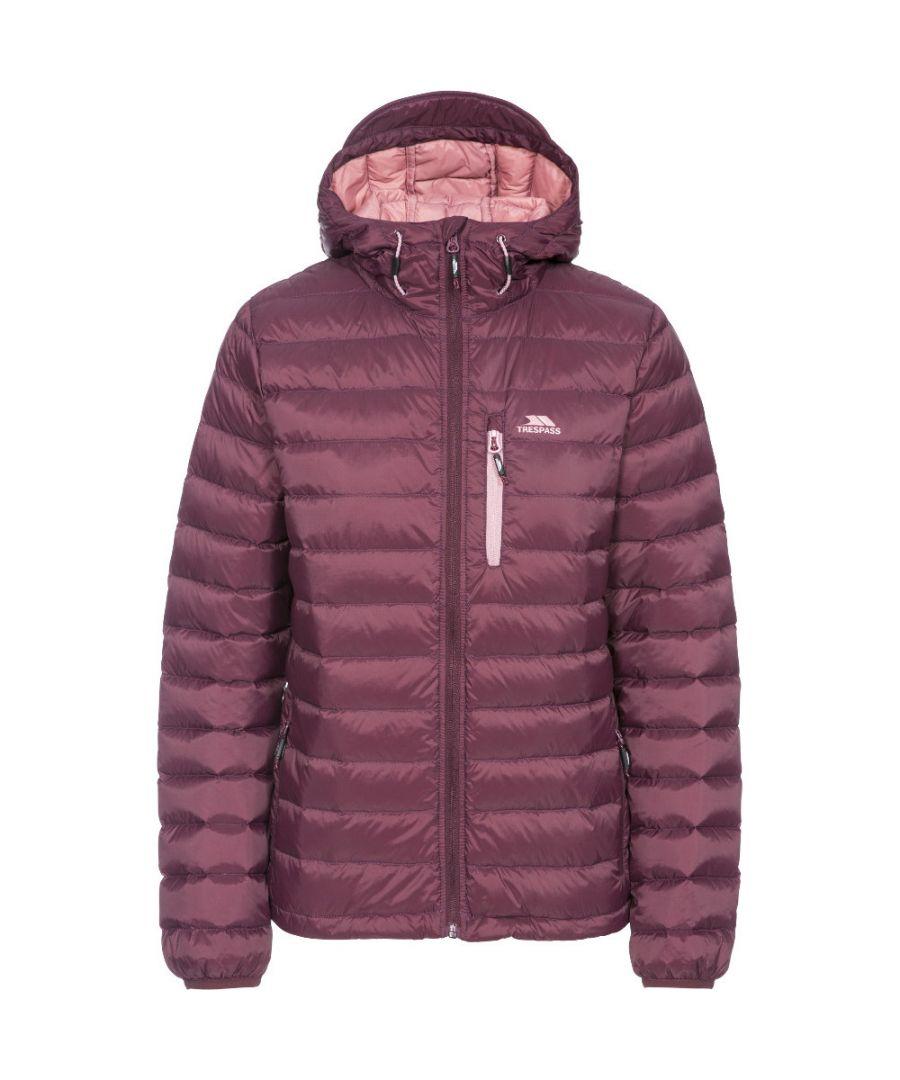 Image for Trespass Womens/Ladies Arabel Ultra Lightweight Packable Down Jacket
