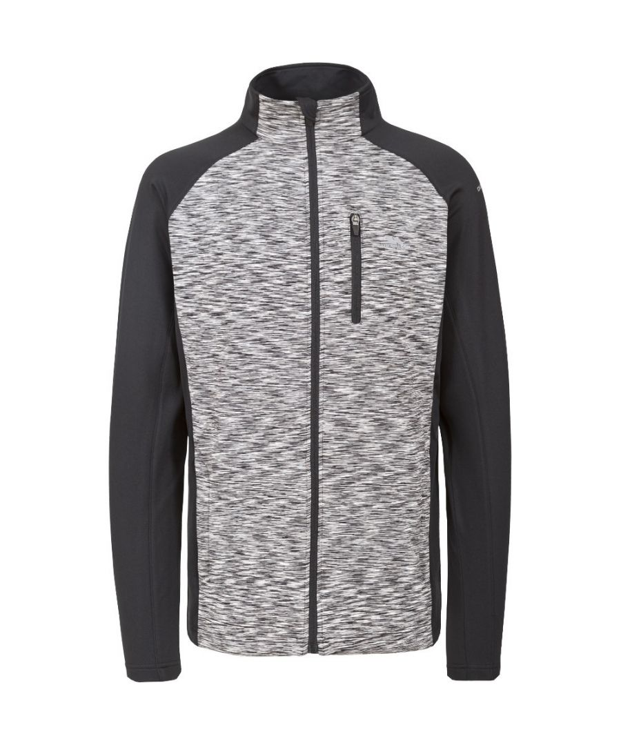 Image for Trespass Mens Ferris Knitted Full Zip Wicking Quick Dry Sweater Jumper