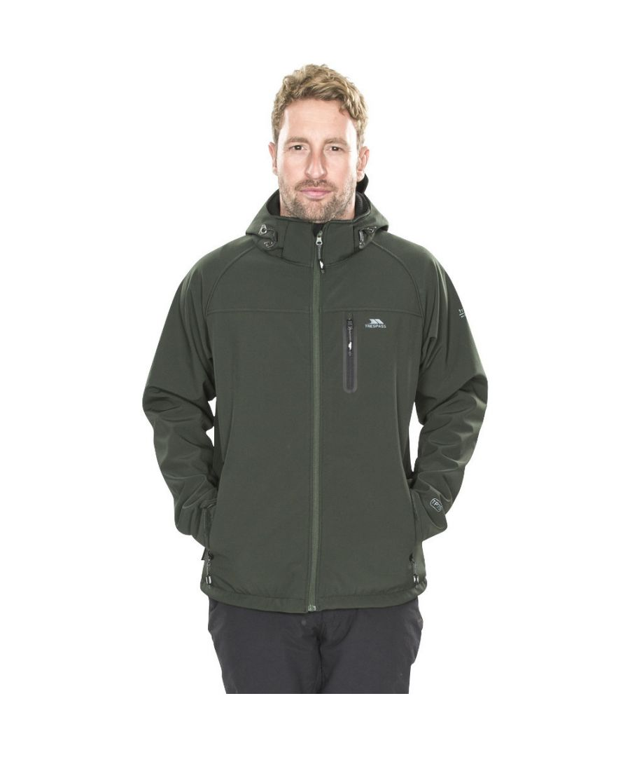 Image for Trespass Mens Accelerator II Waterproof Breathable Softshell Jacket