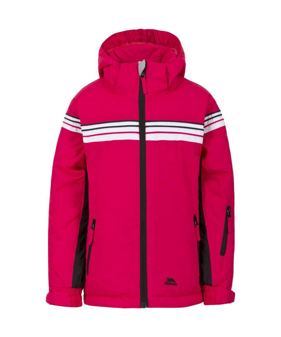 Image for Trespass Girls Priorwood Padded Waterproof Breathable Shell Ski Jacket