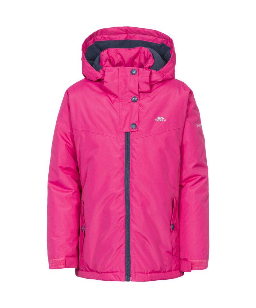Image for Trespass Girls Maybole Lightly Padded Waterproof Windproof Jacket