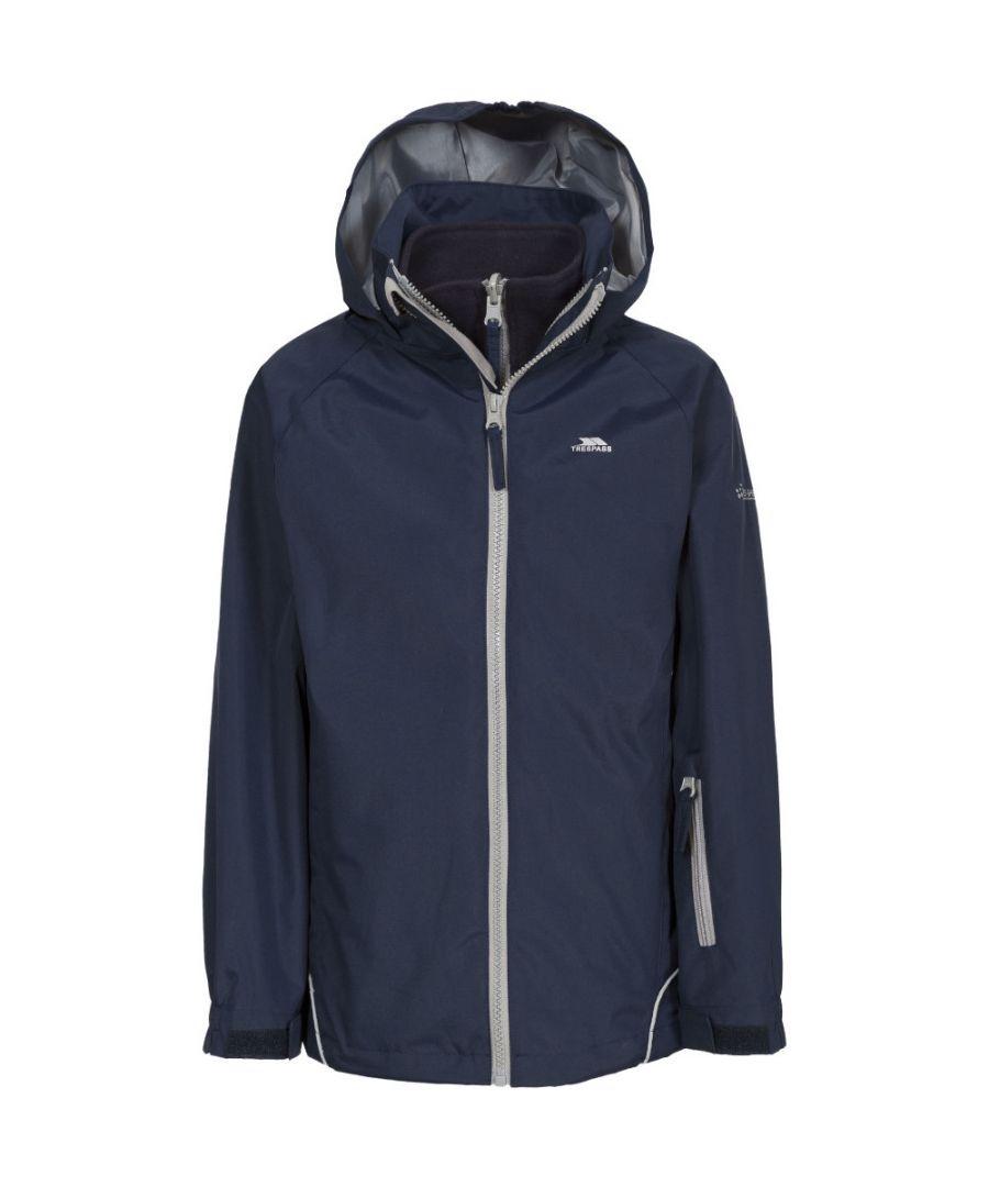 Image for Trespass Girls Rockcliff Waterproof Windproof Fleece 3 In 1 Jacket