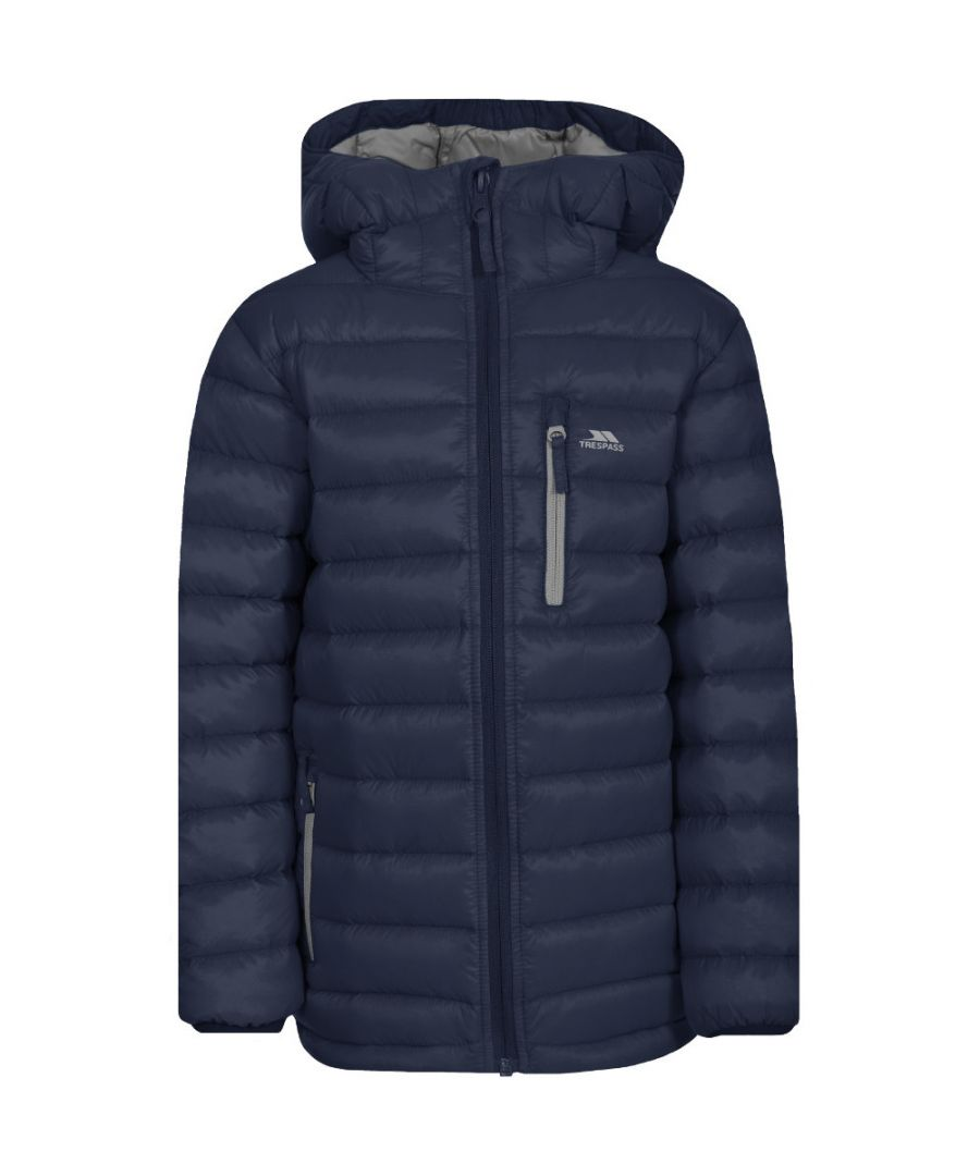 Image for Trespass Girls Morley Ultra Lightweight Packable Down Jacket Coat