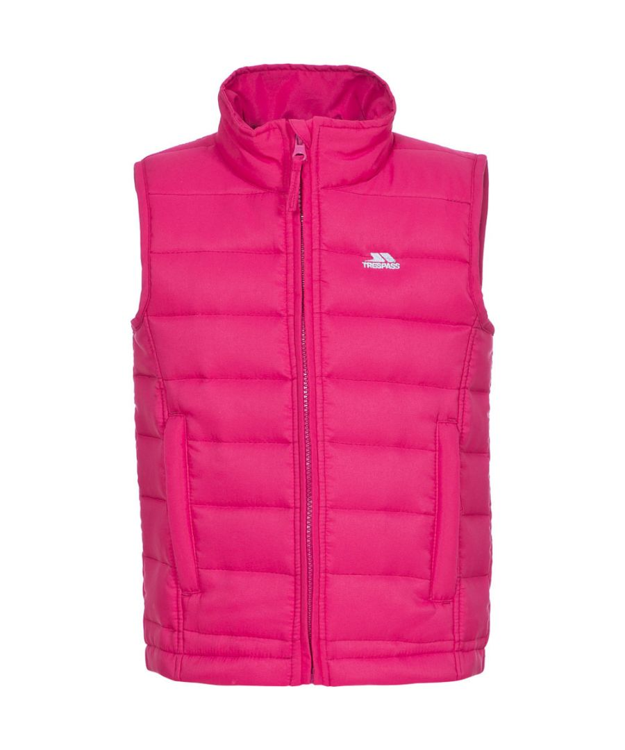 Image for Trespass Girls Jadda Polyester Lightly Quilted Bodywarmer Gilet Coat