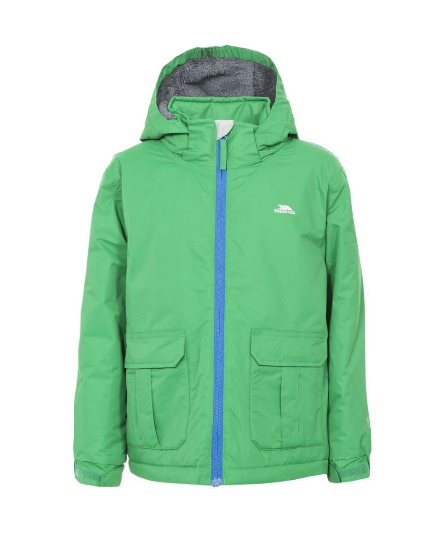 Image for Trespass Boys Flemington Padded Waterproof Windproof Shell Jacket