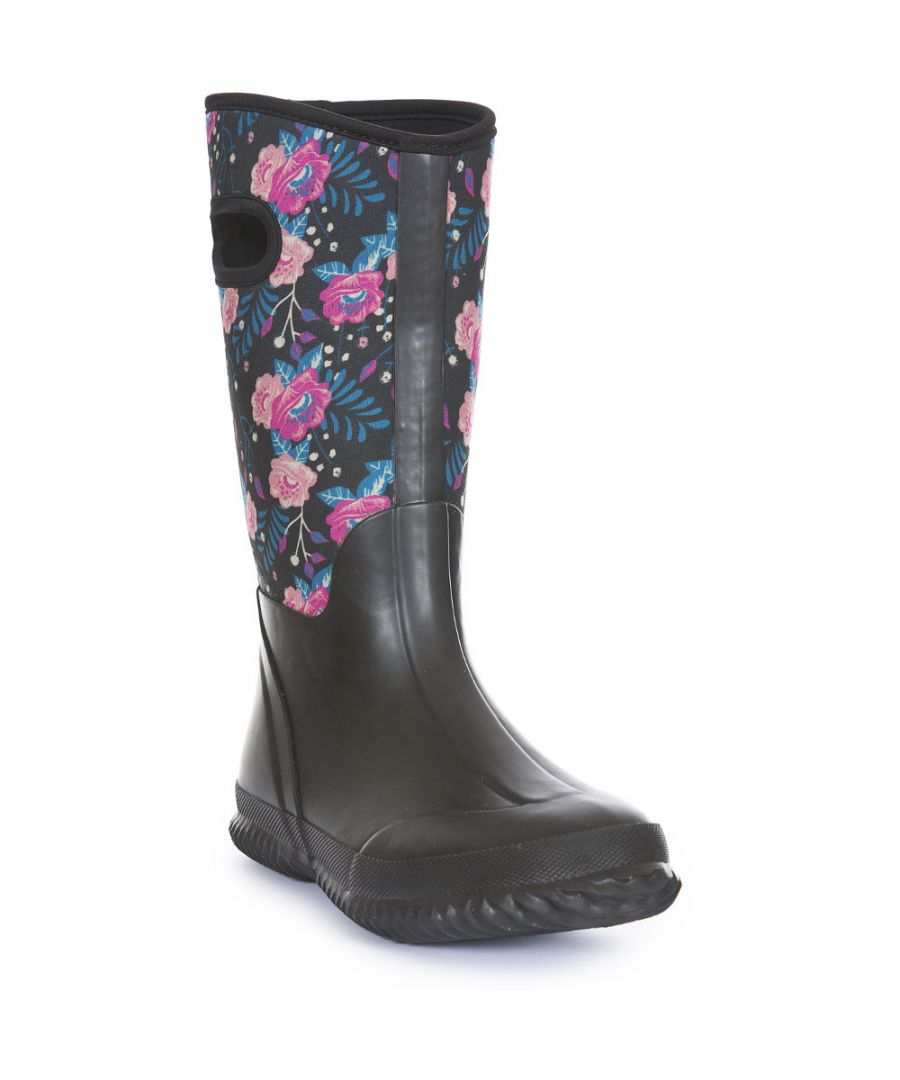 Image for Trespass Womens/Ladies Geraldine Full Waterproof Wellington Boots