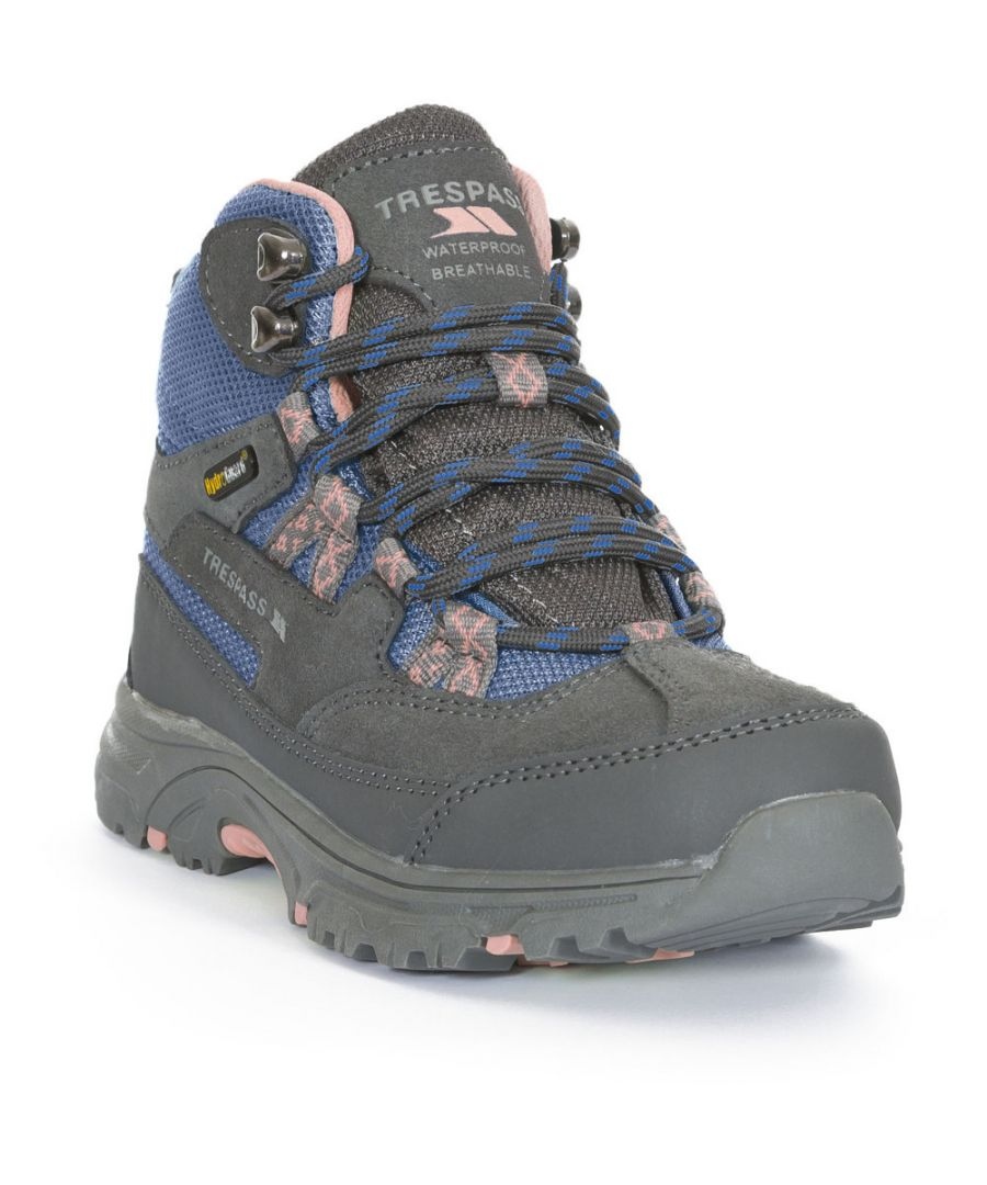Image for Trespass Boys & Girls Cumberbatch Waterproof Breathable Walking Boots