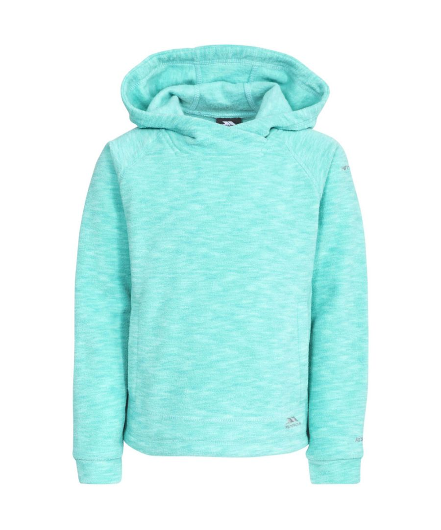 Image for Trespass Boys & Girls Moonflow Hooded Soft Knitted Marl Fleece Jacket