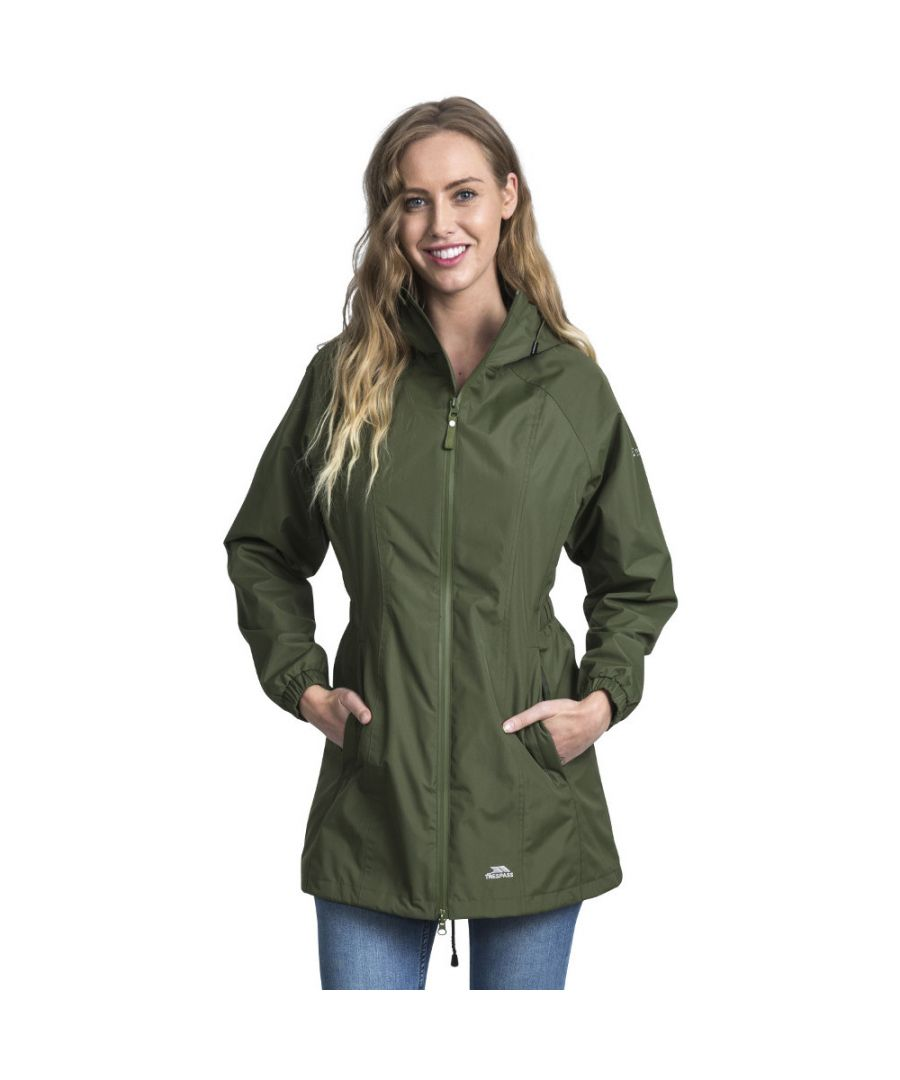 Image for Trespass Womens/Ladies Daytrip Hooded Waterproof Walking Jacket Coat