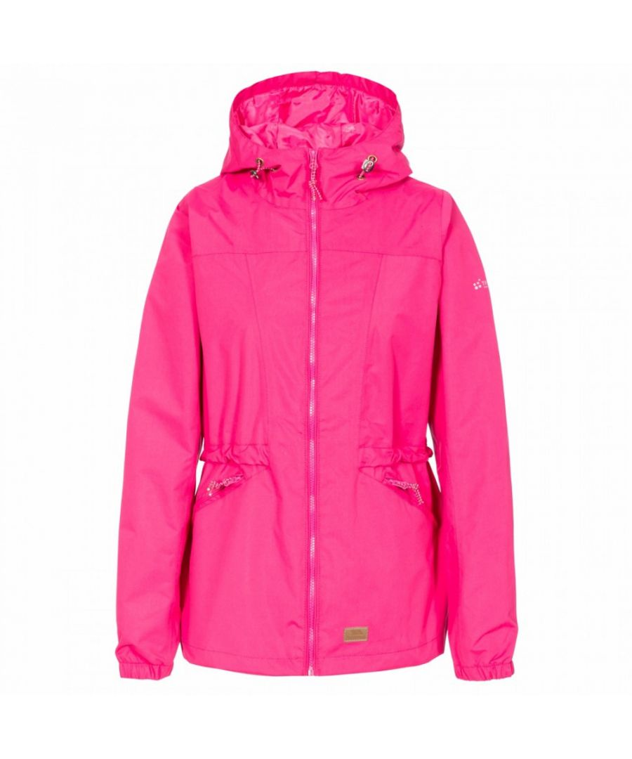 Image for Trespass Womens/Ladies Cruella Hooded Waterproof Walking Jacket Coat