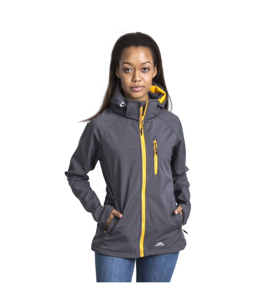 Image for Trespass Womens/Ladies Lorina Softshell Waterproof Walking Jacket