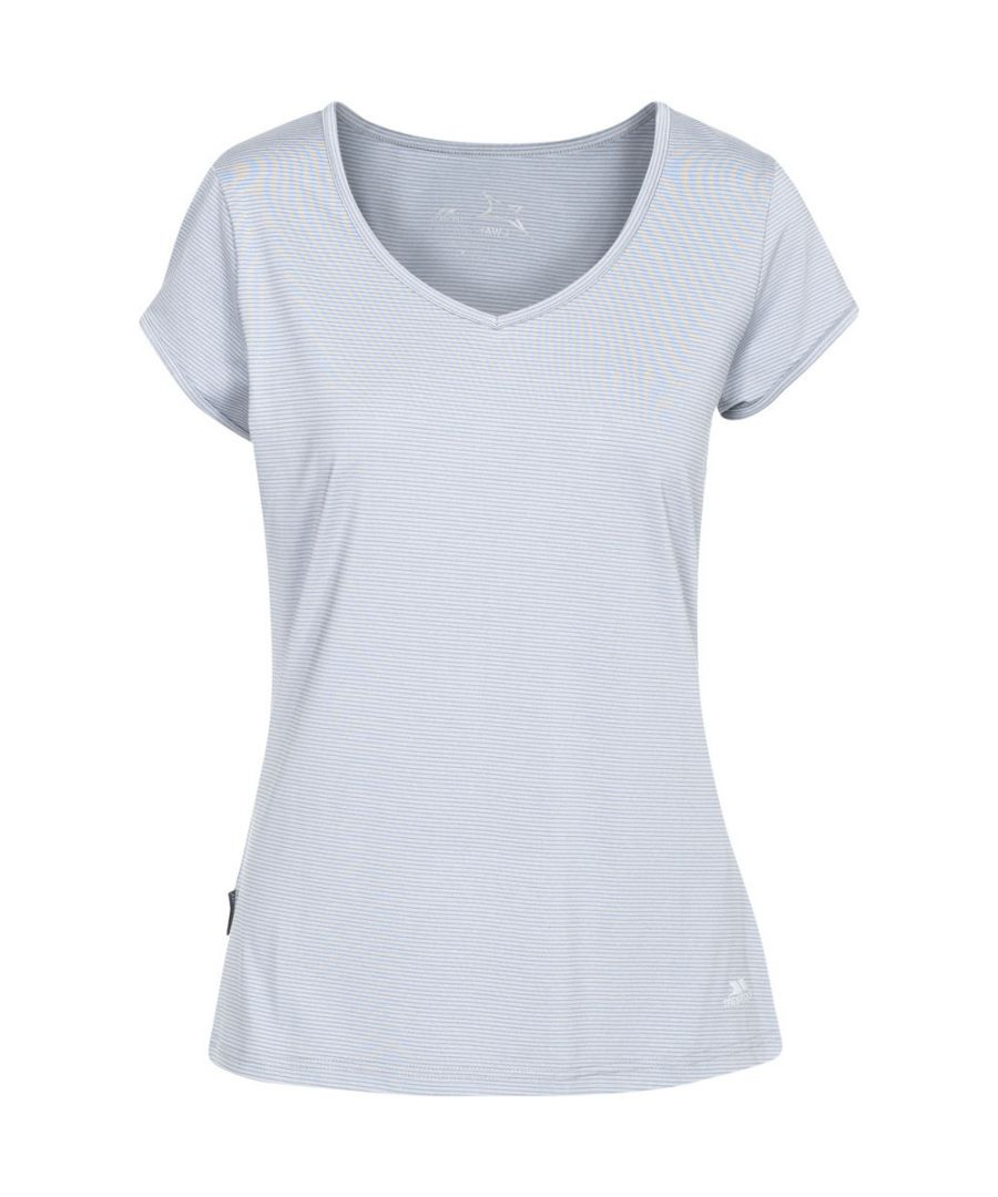 Image for Trespass Womens/Ladies Mirren Short Sleeve Quick Dry Fitness T-Shirts