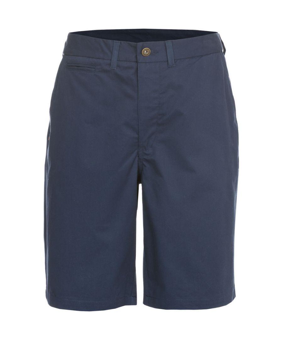 Image for Trespass Mens Firewall Woven Cotton Longer Length Casual Shorts