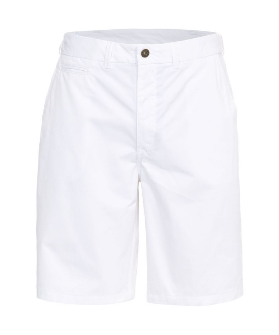 Image for Trespass Mens Firewall Woven Cotton Longer Length Casual Shorts