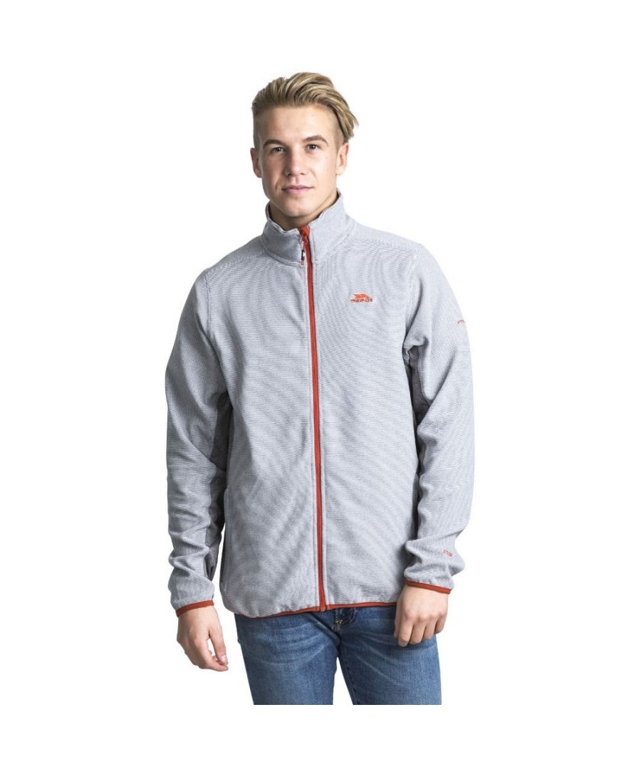 Image for Trespass Mens Mirth Polyester Zip Fleece Outdoor Walking Jacket Top