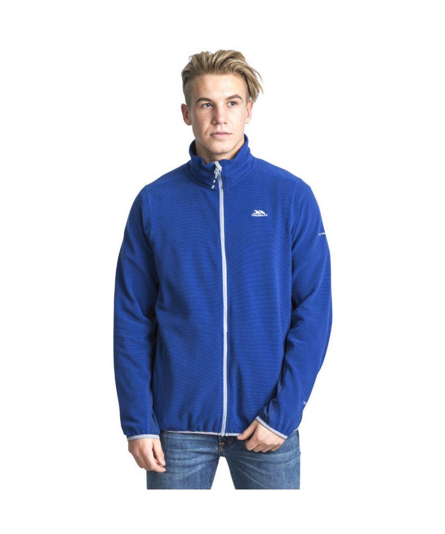Image for Trespass Mens Mirth Polyester Zip Fleece Outdoor Walking Jacket Top