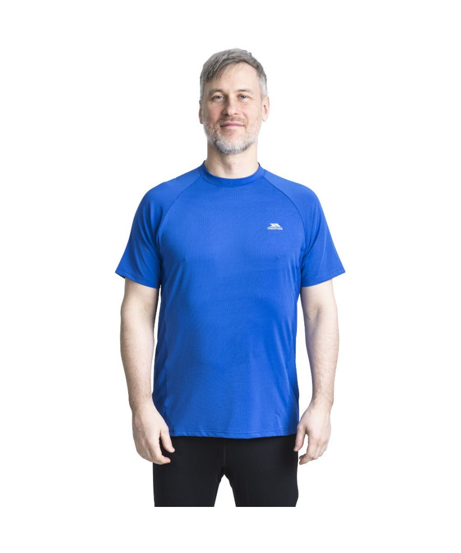 Image for Trespass Mens Cacama Short Sleeve Wicking Fitness Running T-Shirt