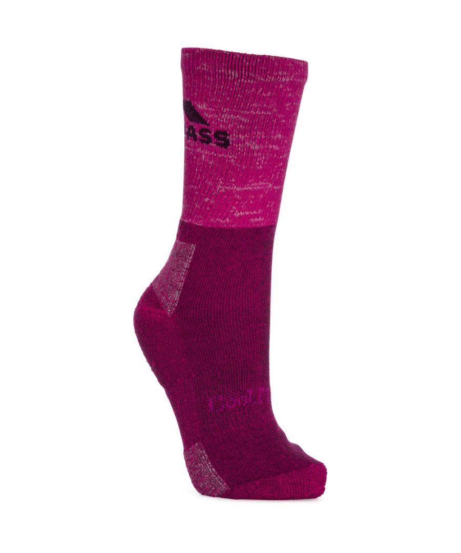 Image for Trespass Womens/Ladies Leader Coolmax Polycotton Trekking Hiking Socks