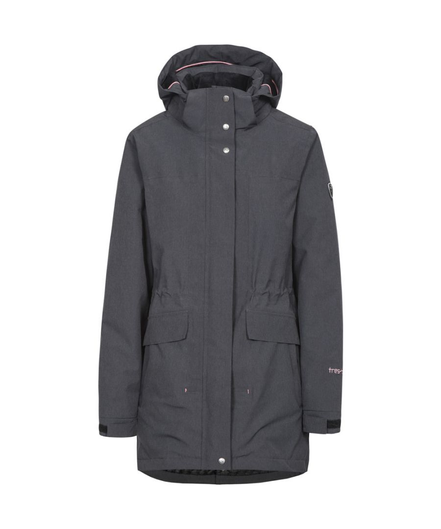 Image for Trespass Womens/Ladies Reveal Waterproof Breathable Hooded Jacket Coat