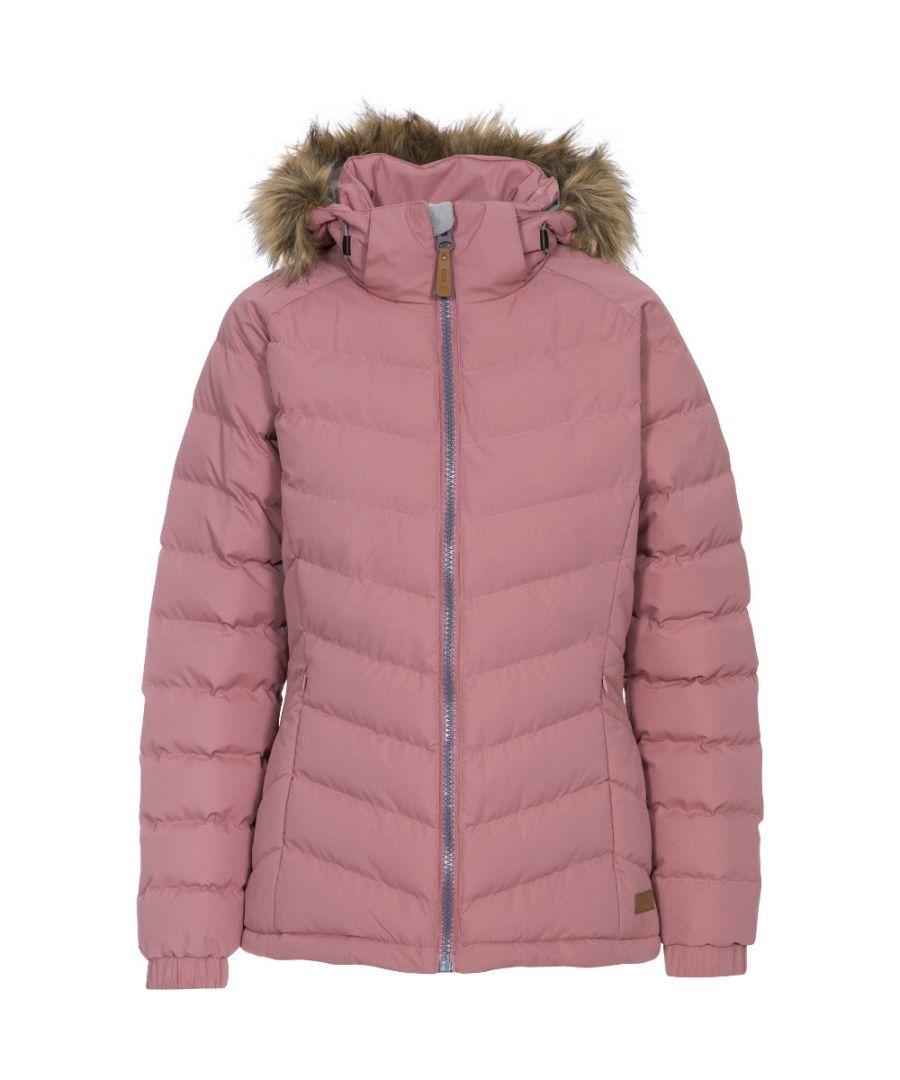 Image for Trespass Womens/Ladies Nadina Waterproof Breathable Hooded Jacket Coat
