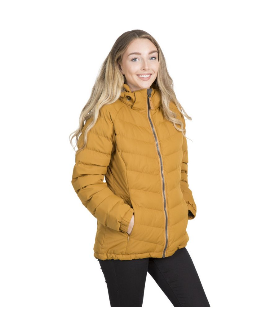 Image for Trespass Womens/Ladies Nadina Waterproof Breathable Hooded Jacket Coat