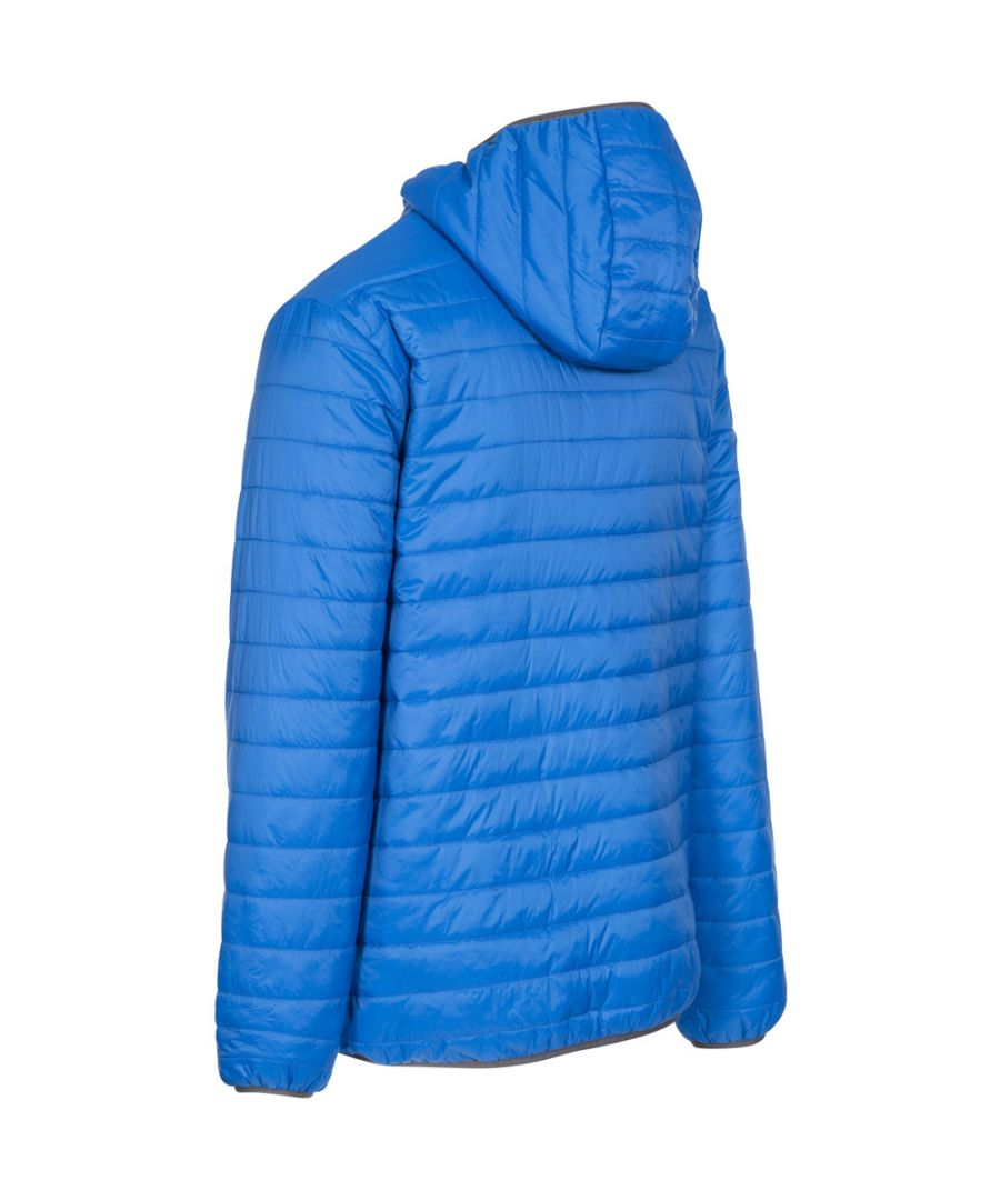 Image for Trespass Mens Dunbar Ultra Light Padded Insulated Hooded Jacket
