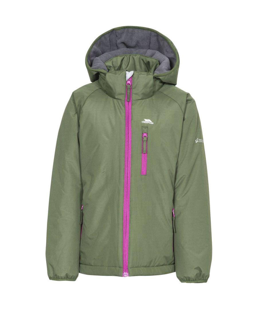 Image for Trespass Girls Shasta Waterproof Windproof Insulated Warm Jacket Coat