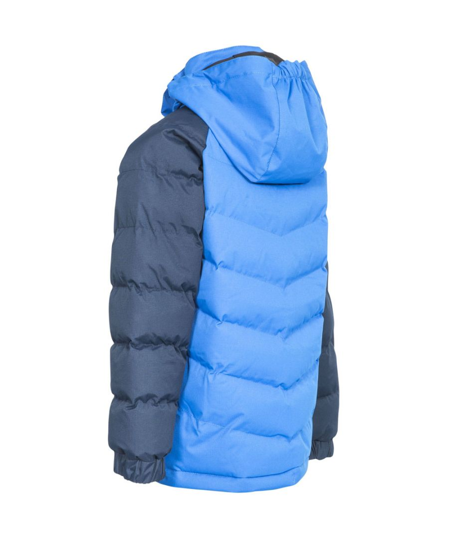 Image for Trespass Boys Sidespin Waterproof Windproof Insulated Warm Jacket Coat
