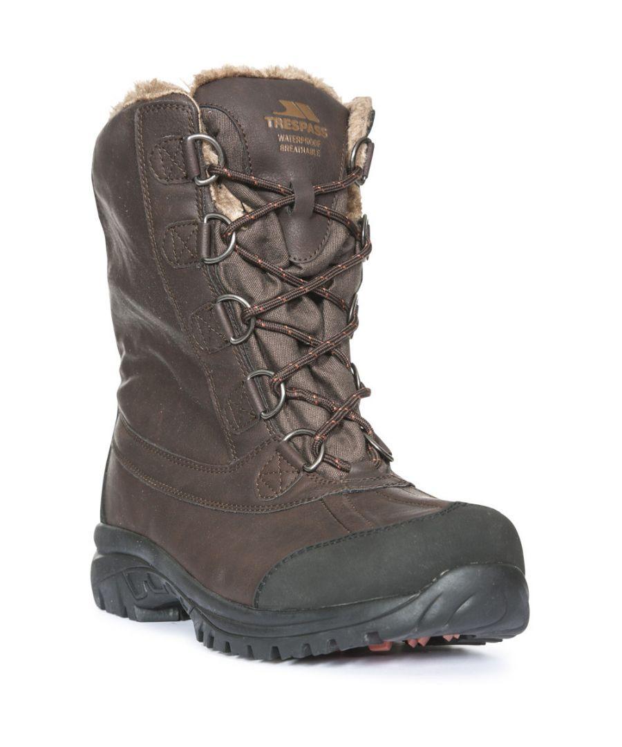 Image for Trespass Mens Kareem Waterproof Winter Snow Boots