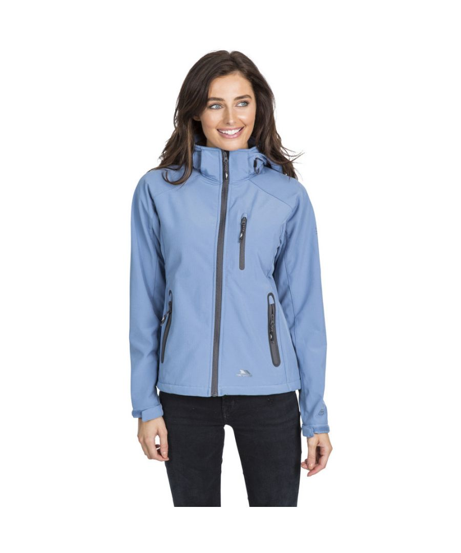 Image for Trespass Womens/Ladies Bela II Waterproof Breathable Softshell Coat