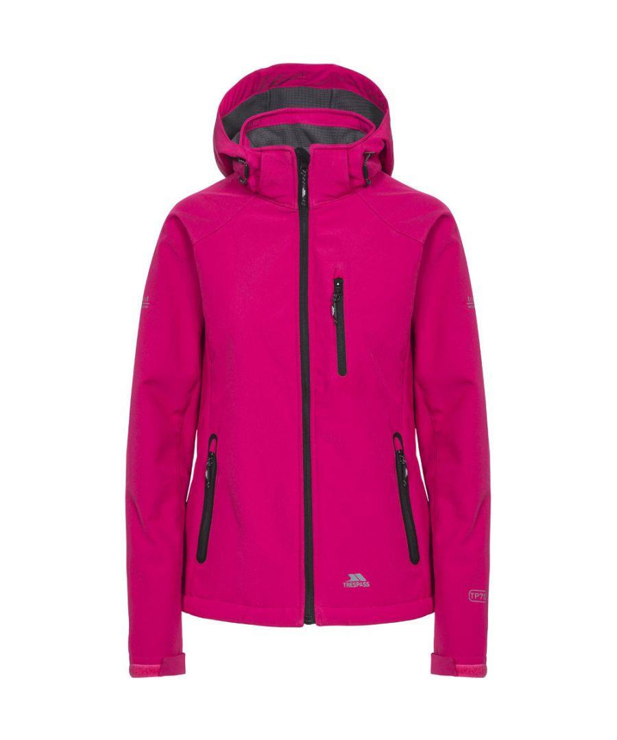 Image for Trespass Womens/Ladies Bela II Waterproof Breathable Softshell Coat