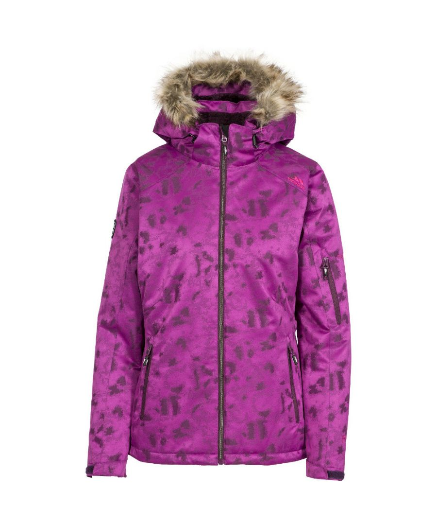 Image for Trespass Womens/Ladies Merrion Waterproof Breathable Hooded Ski Coat