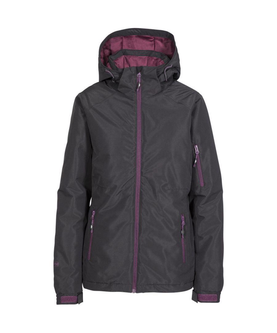 Image for Trespass Womens/Ladies Sheelin Waterproof Windproof Hooded Skiing Coat
