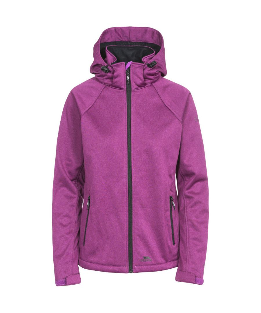 Image for Trespass Womens/Ladies Angela Waterproof Breathable Hooded Hiking Coat