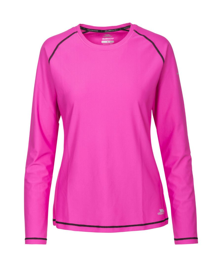 Image for Trespass Womens/Ladies Hasting Quick Dry Wicking Long Sleeve Top