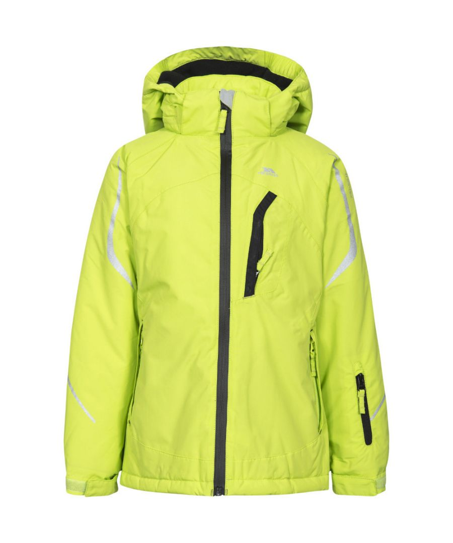 Image for Trespass Girls Jala Waterproof Breathable Padded Hooded Skiing Coat