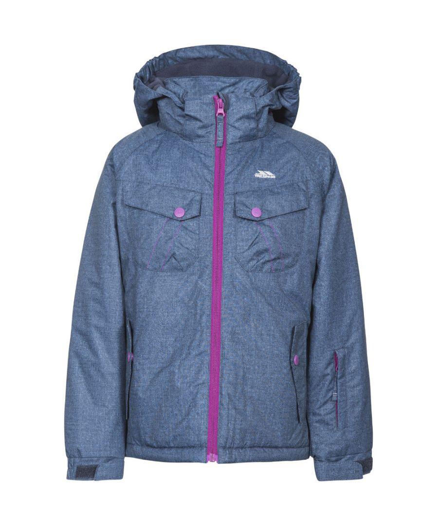 Image for Trespass Girls Backspin Waterproof Breathable Padded Skiing Coat