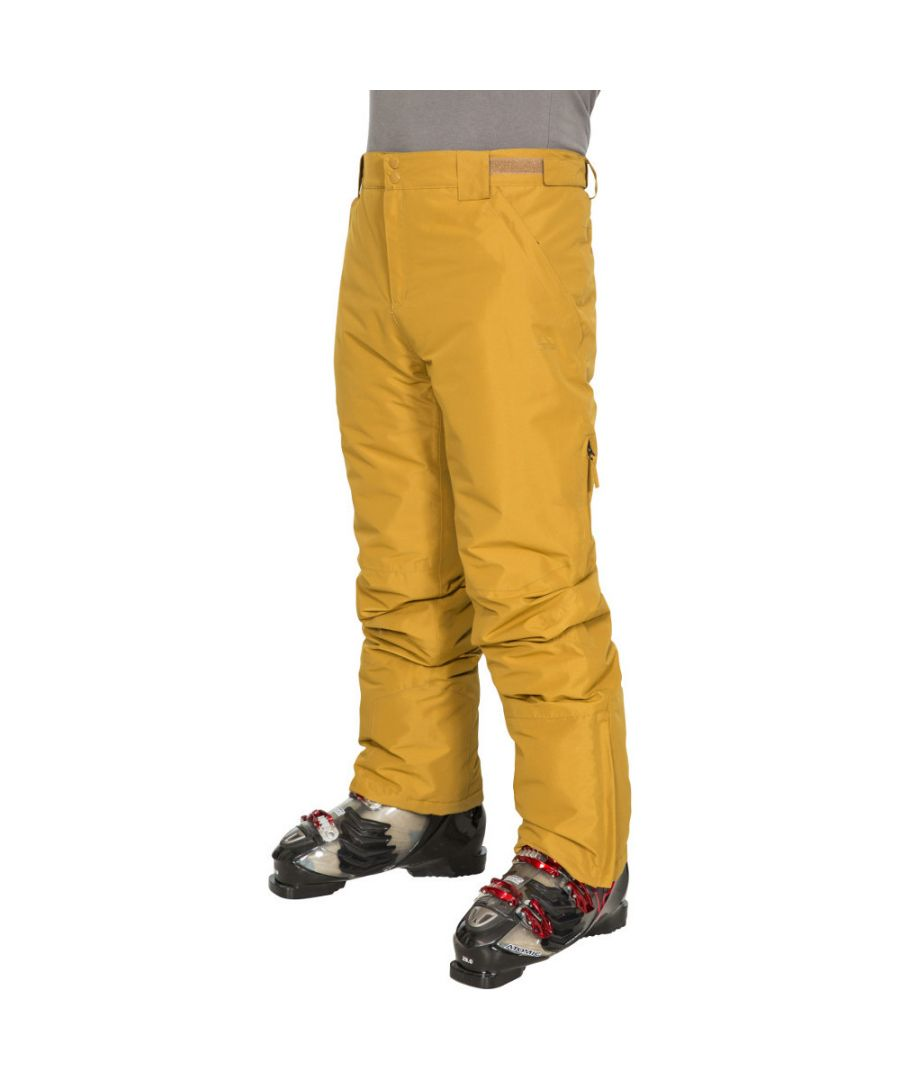Image for Trespass Mens Roscrea Waterproof Windproof Padded Skiing Trousers
