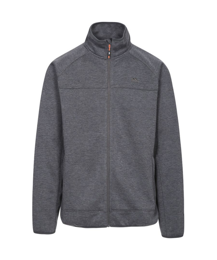 Image for Trespass Mens Rutland Full Zip Polyester Walking Fleece Jacket