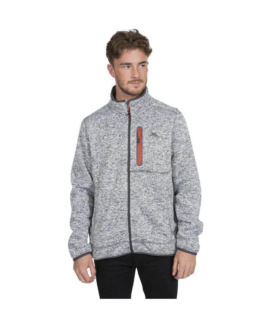 Image for Trespass Mens Bingham Full Zip Polyester Walking Fleece Jacket